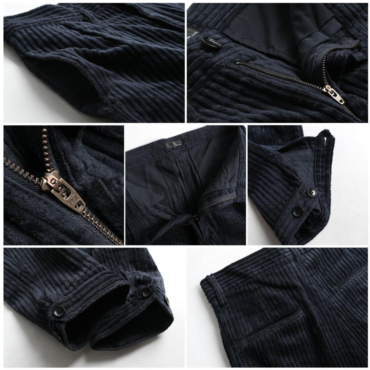 燈芯絨寬褲 錐形褲 3