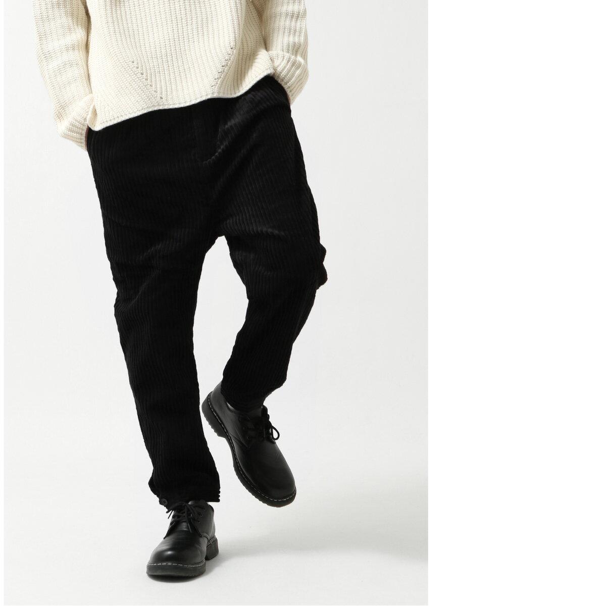 燈芯絨寬褲 錐形褲 5