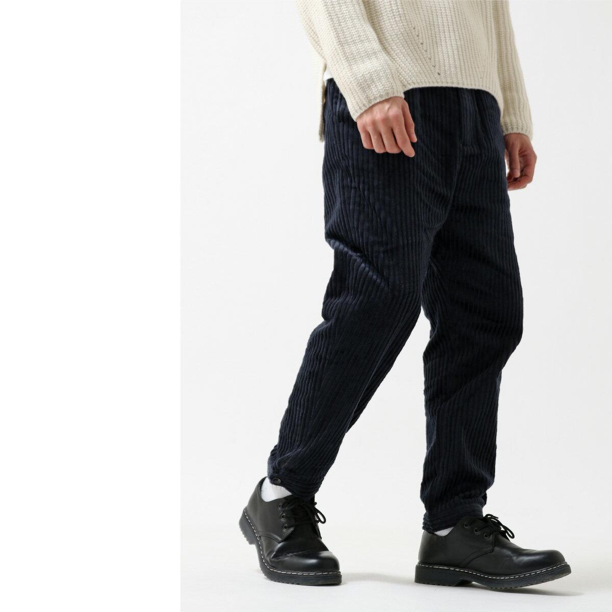 燈芯絨寬褲 錐形褲 6