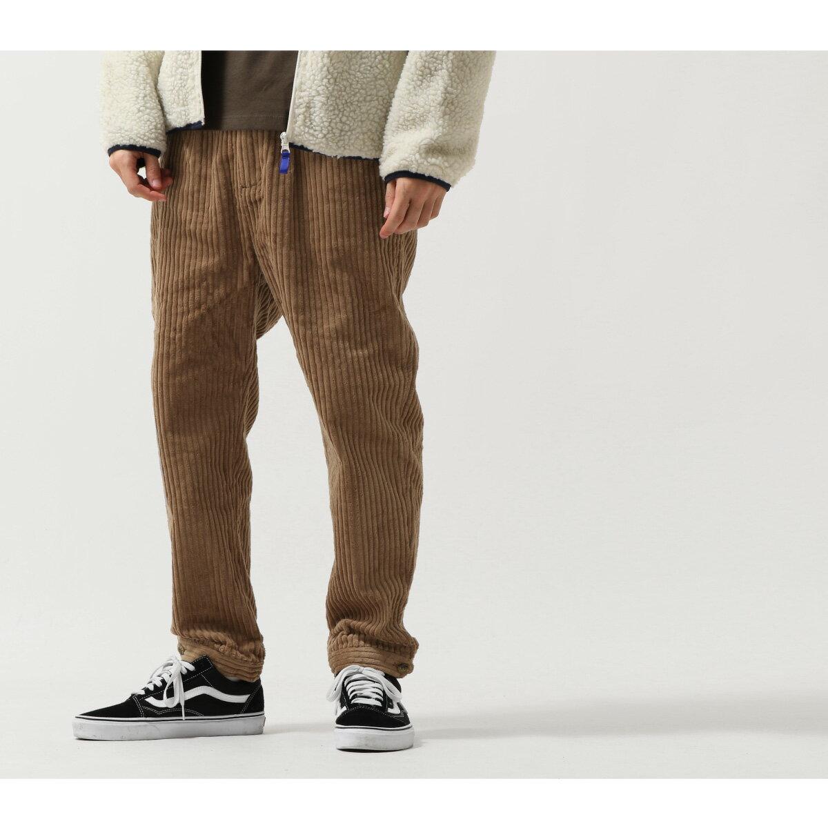 燈芯絨寬褲 錐形褲 8