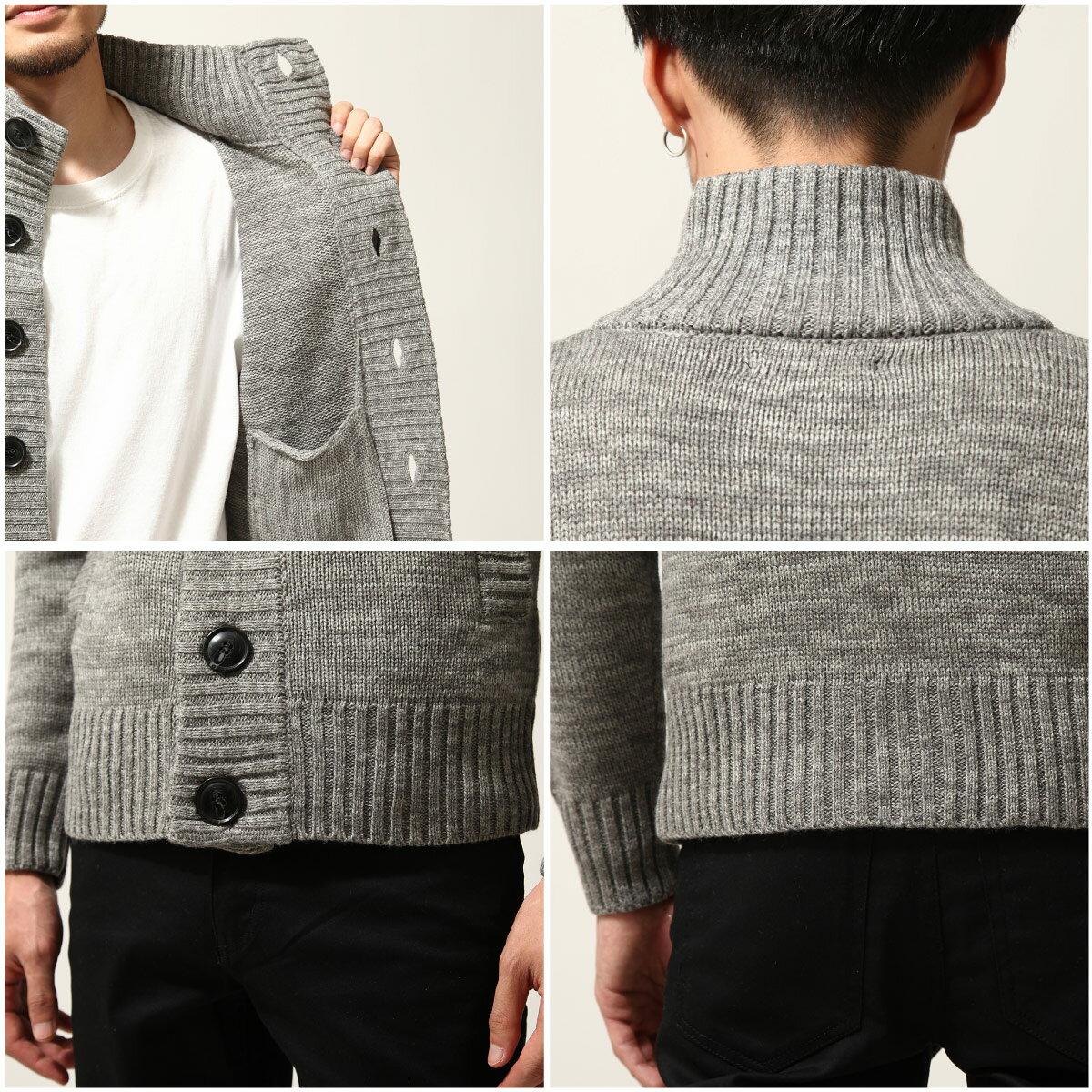 針織外套 高領 4