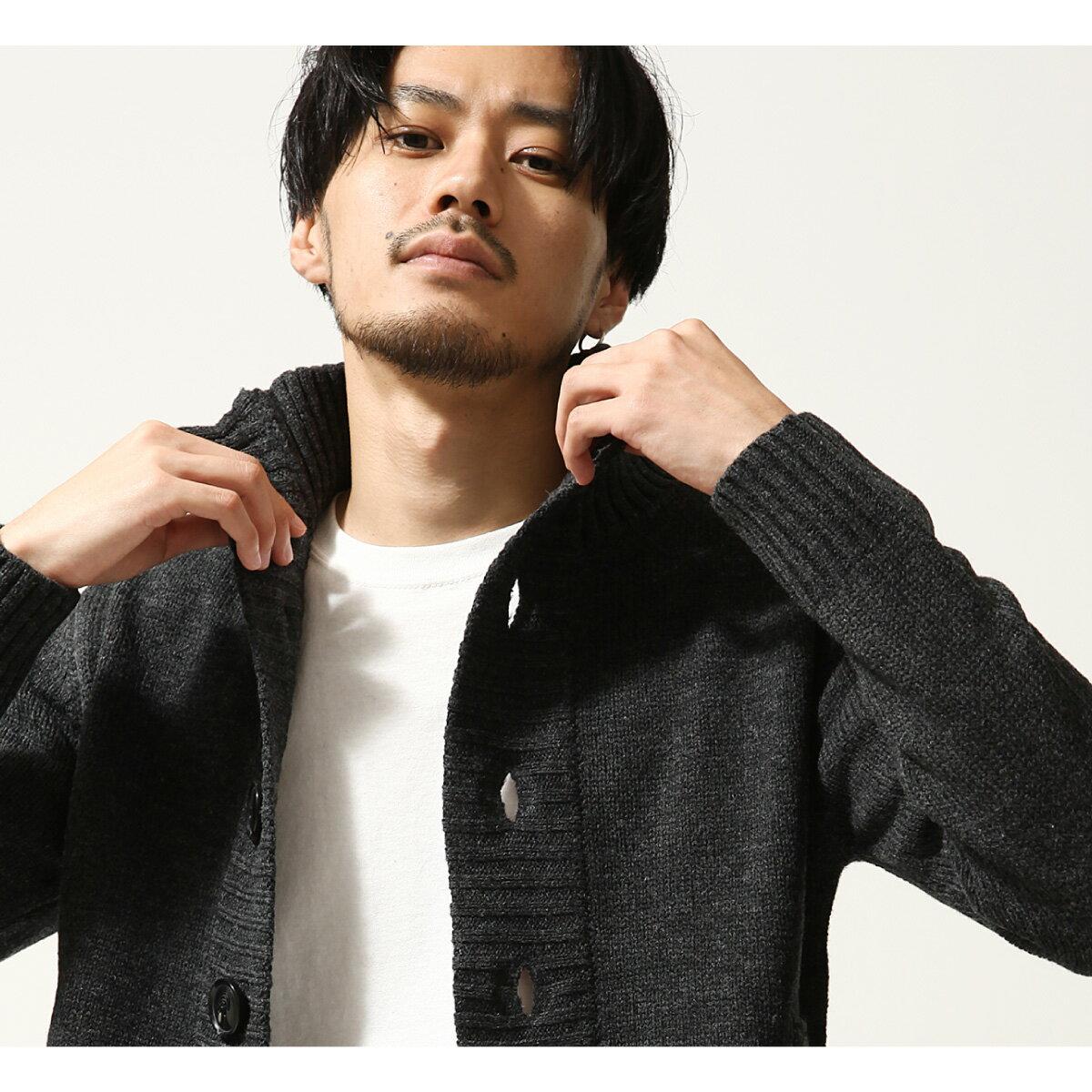 針織外套 高領 8