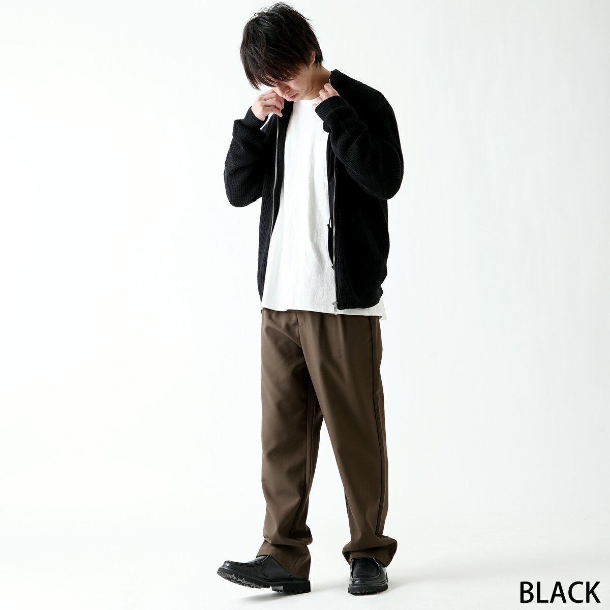 黑色針織外套 Mr.SZK聯名款 2