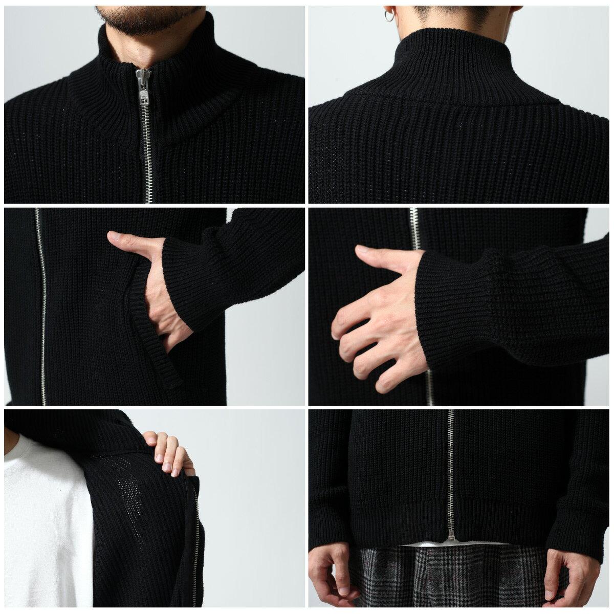 黑色針織外套 Mr.SZK聯名款 4