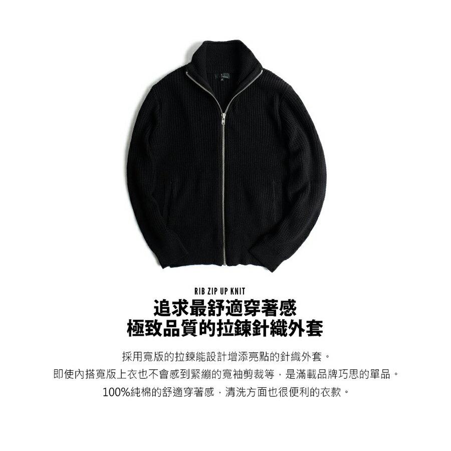 黑色針織外套 Mr.SZK聯名款 1