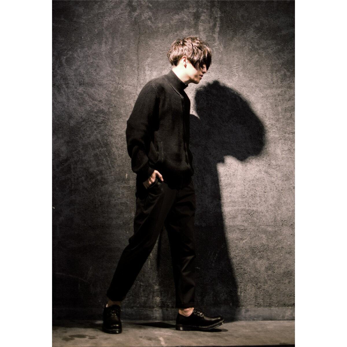 黑色針織外套 Mr.SZK聯名款 7