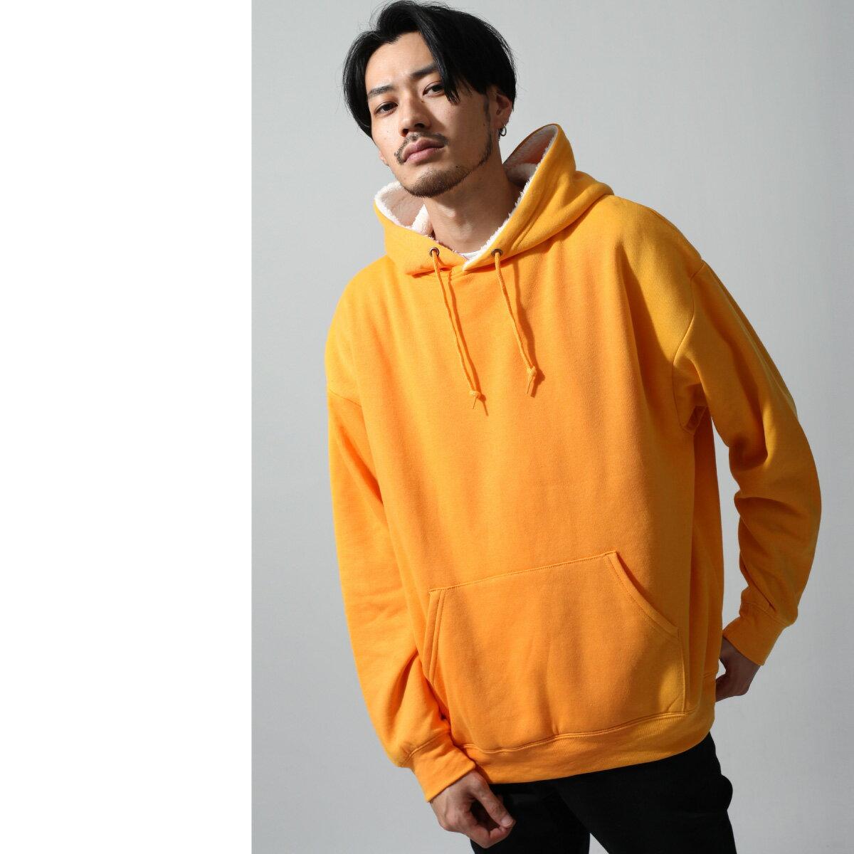 寬版連帽T恤 素色 1