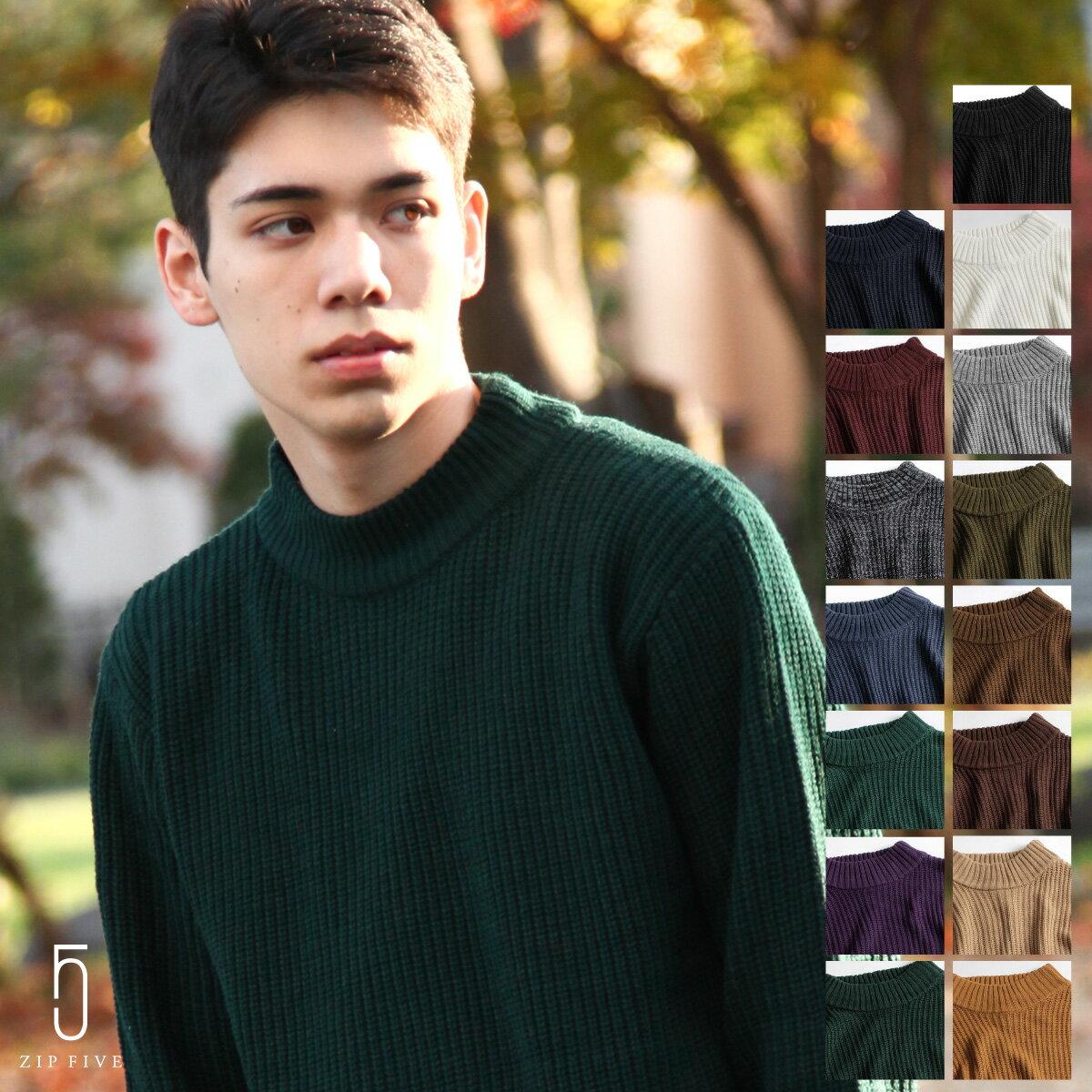 中高領毛衣 0