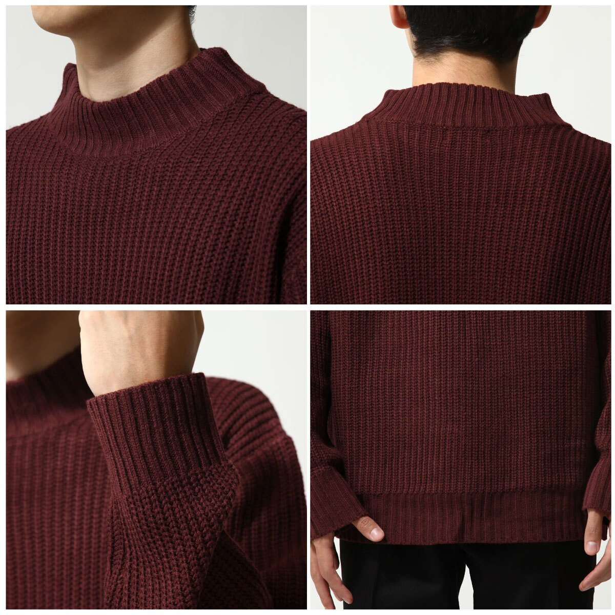 中高領毛衣 4