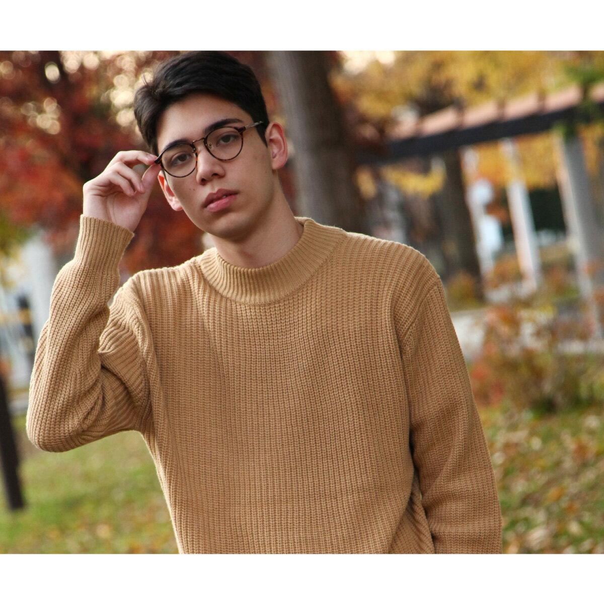 中高領毛衣 8