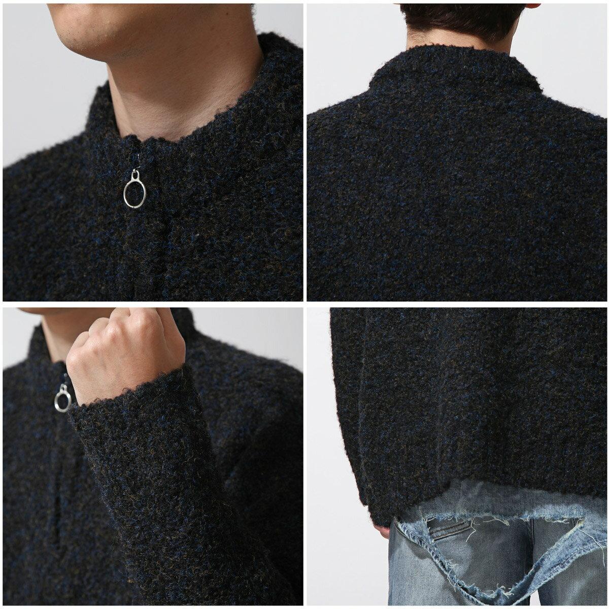 素面針織衫 半拉鍊 4