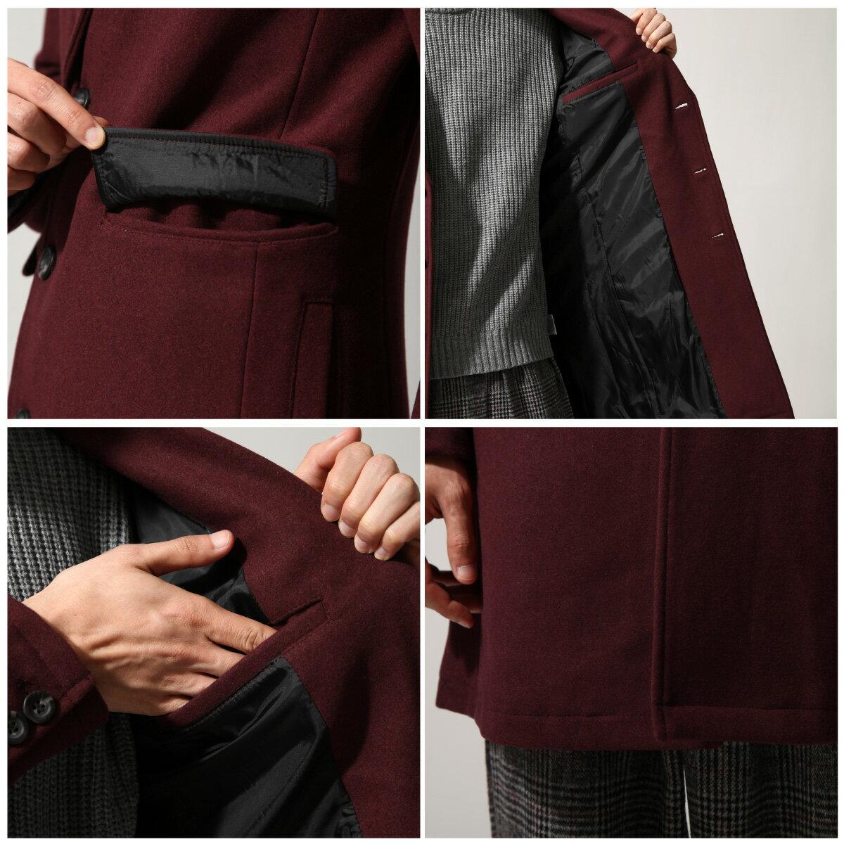 切斯特外套 長大衣 混羊毛 4