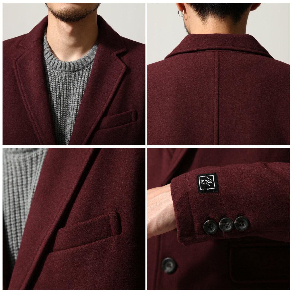切斯特外套 長大衣 混羊毛 3