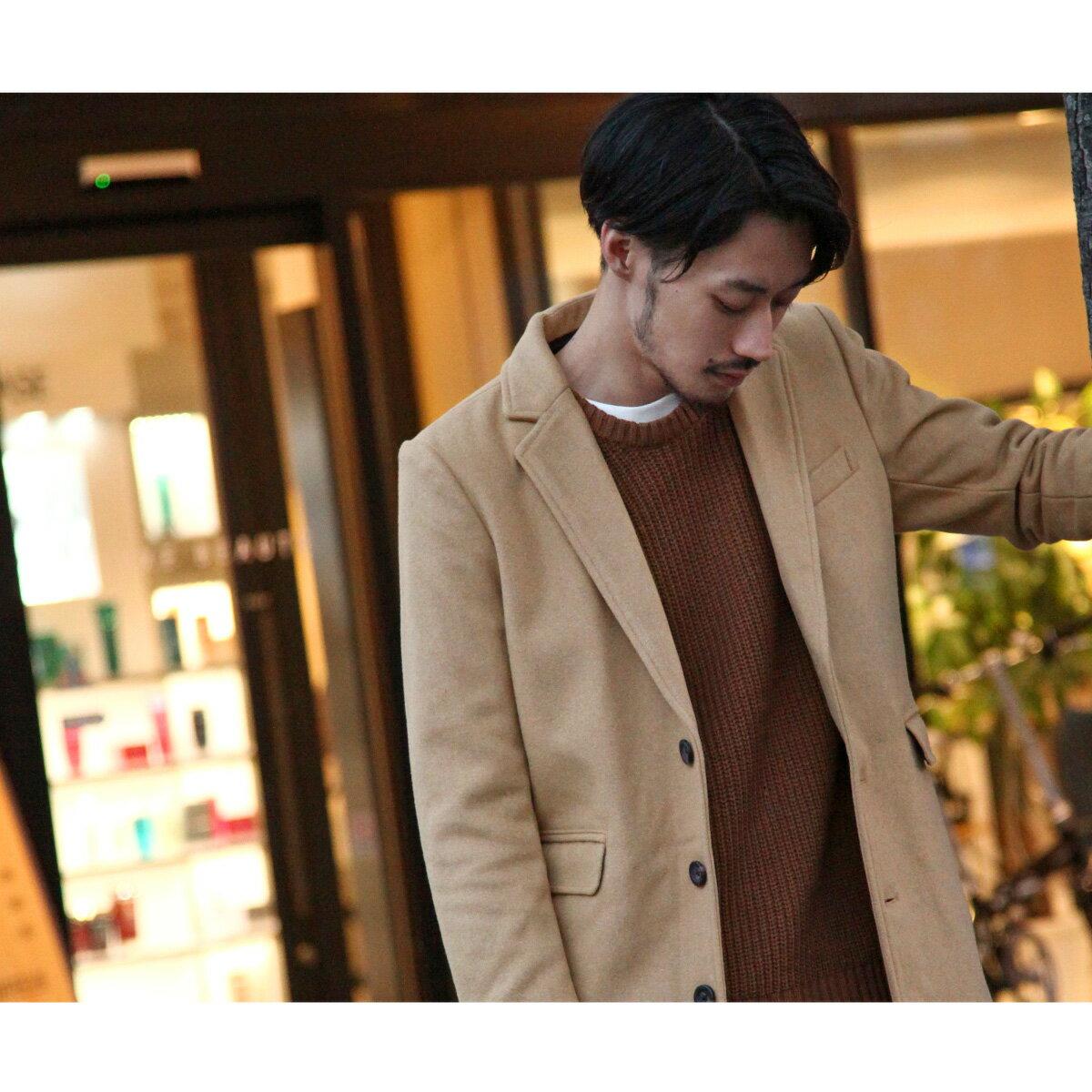 切斯特外套 長大衣 混羊毛 6