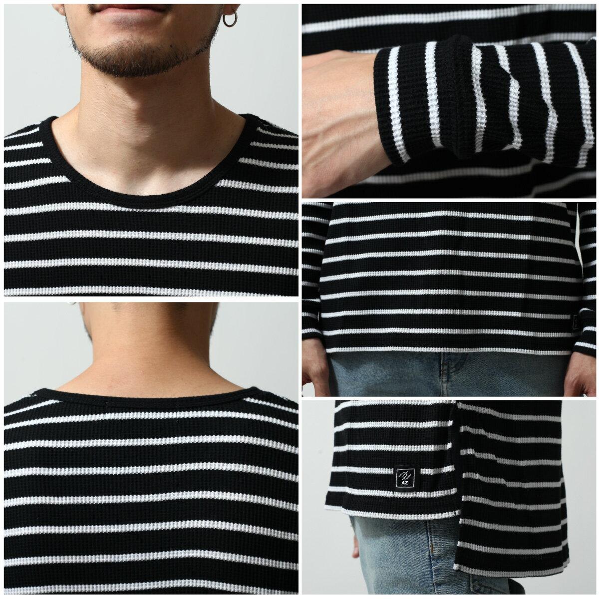 長袖T恤 鬆餅織 3