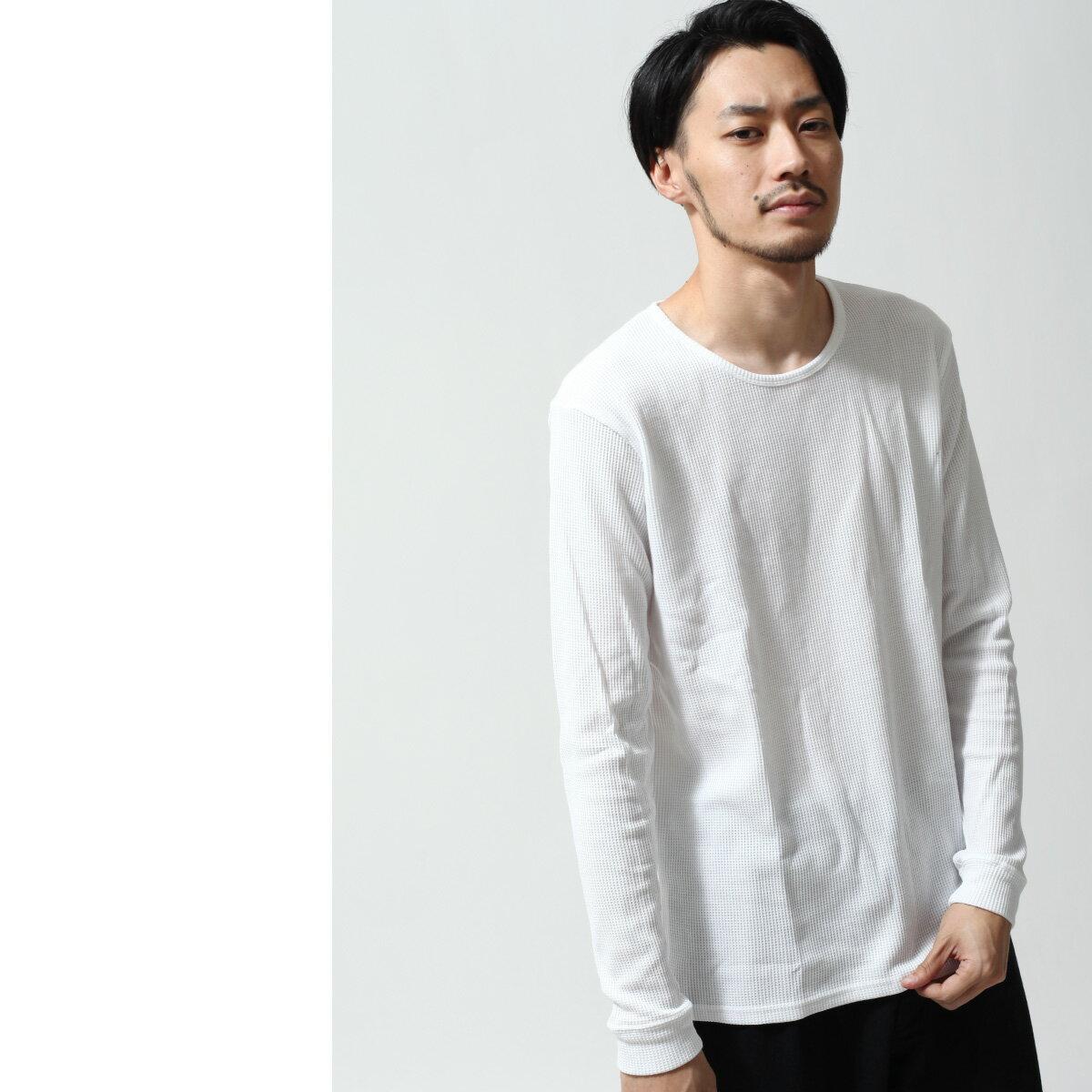 長袖T恤 鬆餅織 1