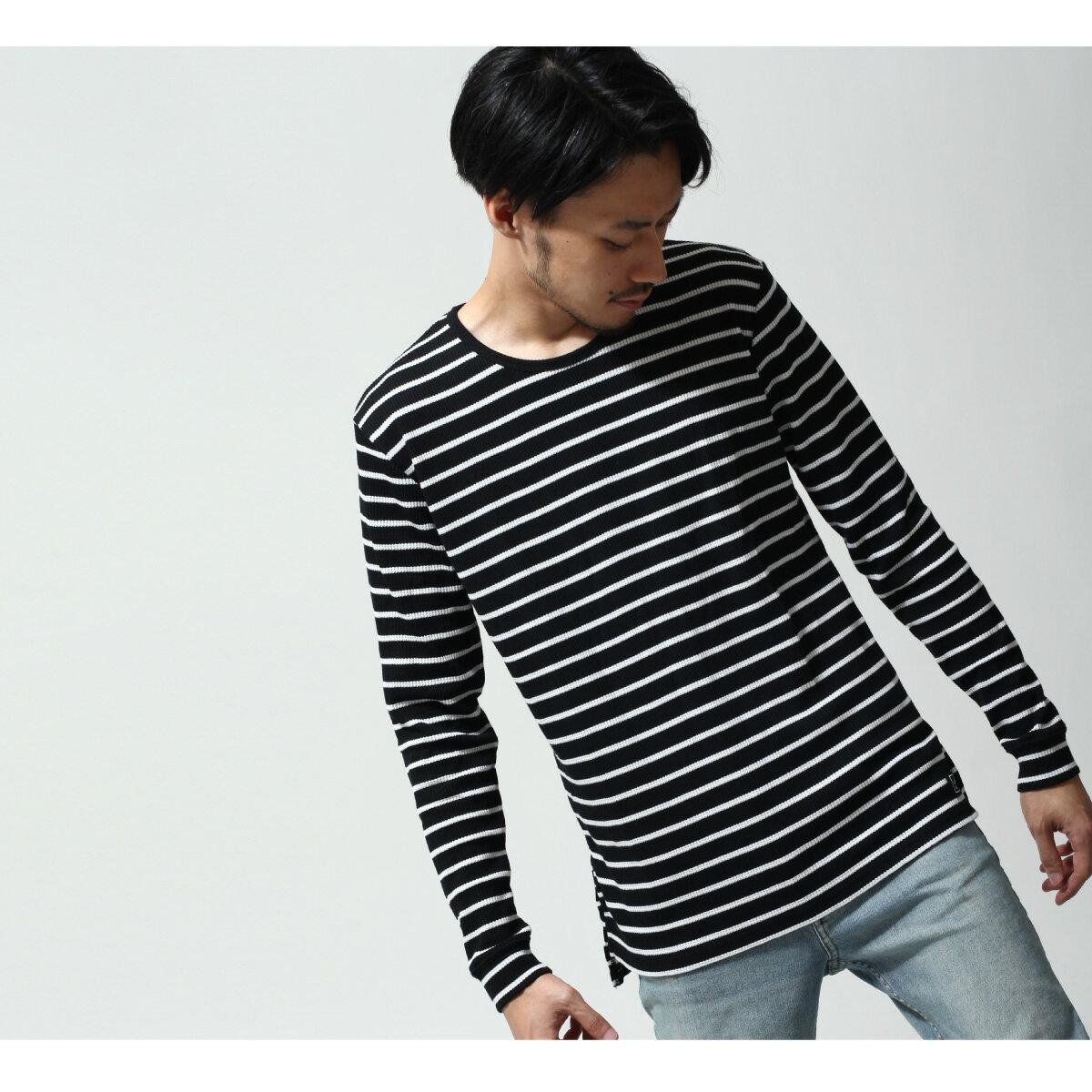 長袖T恤 鬆餅織 6