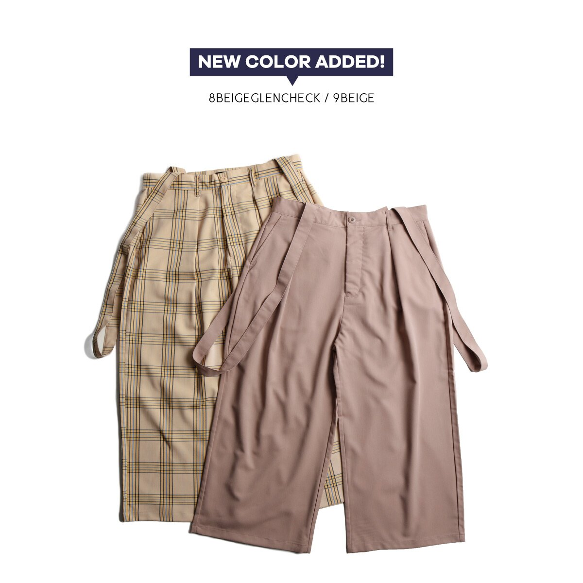 Gaucho寬褲 吊帶褲 8