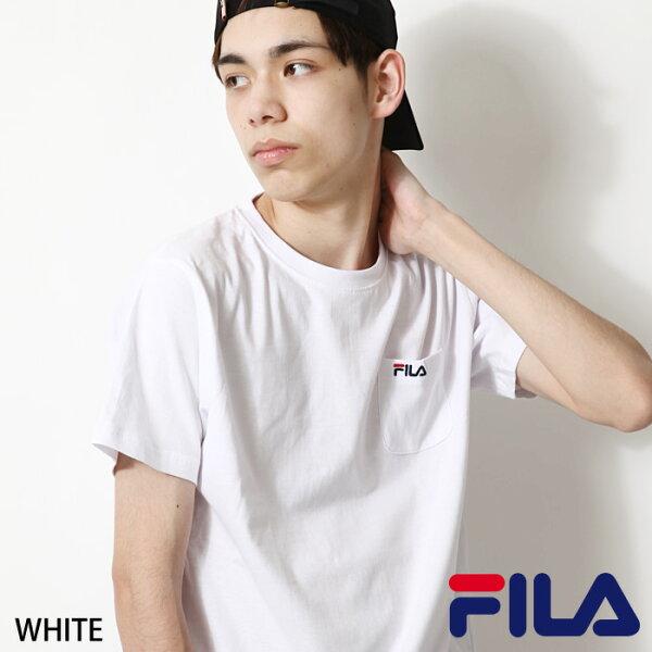 素面T恤FILA