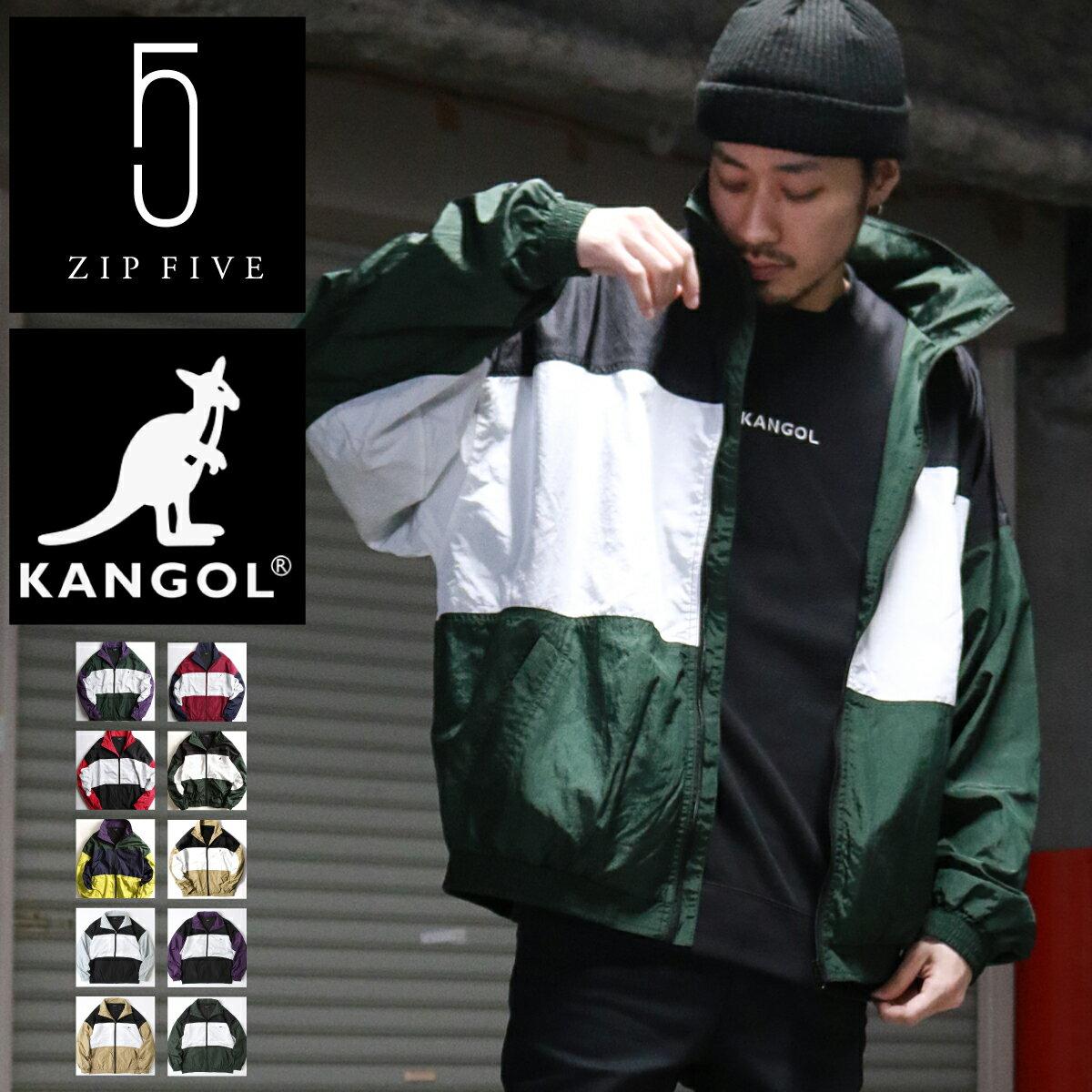 復古尼龍外套 KANGOL聯名款 0