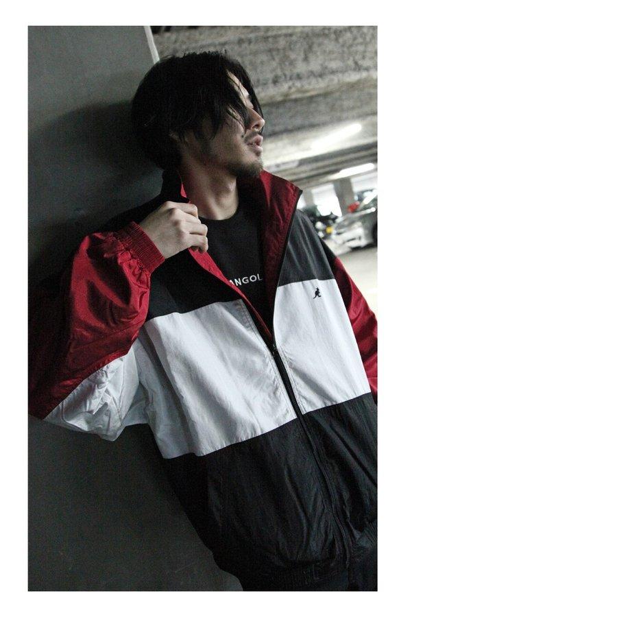 復古尼龍外套 KANGOL聯名款 1
