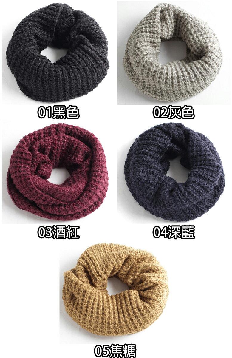 針織圍脖 麻花 / 鬆餅織 3