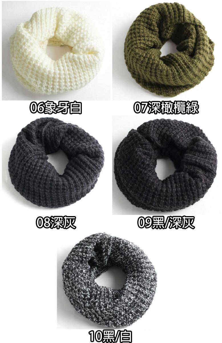 針織圍脖 麻花 / 鬆餅織 4