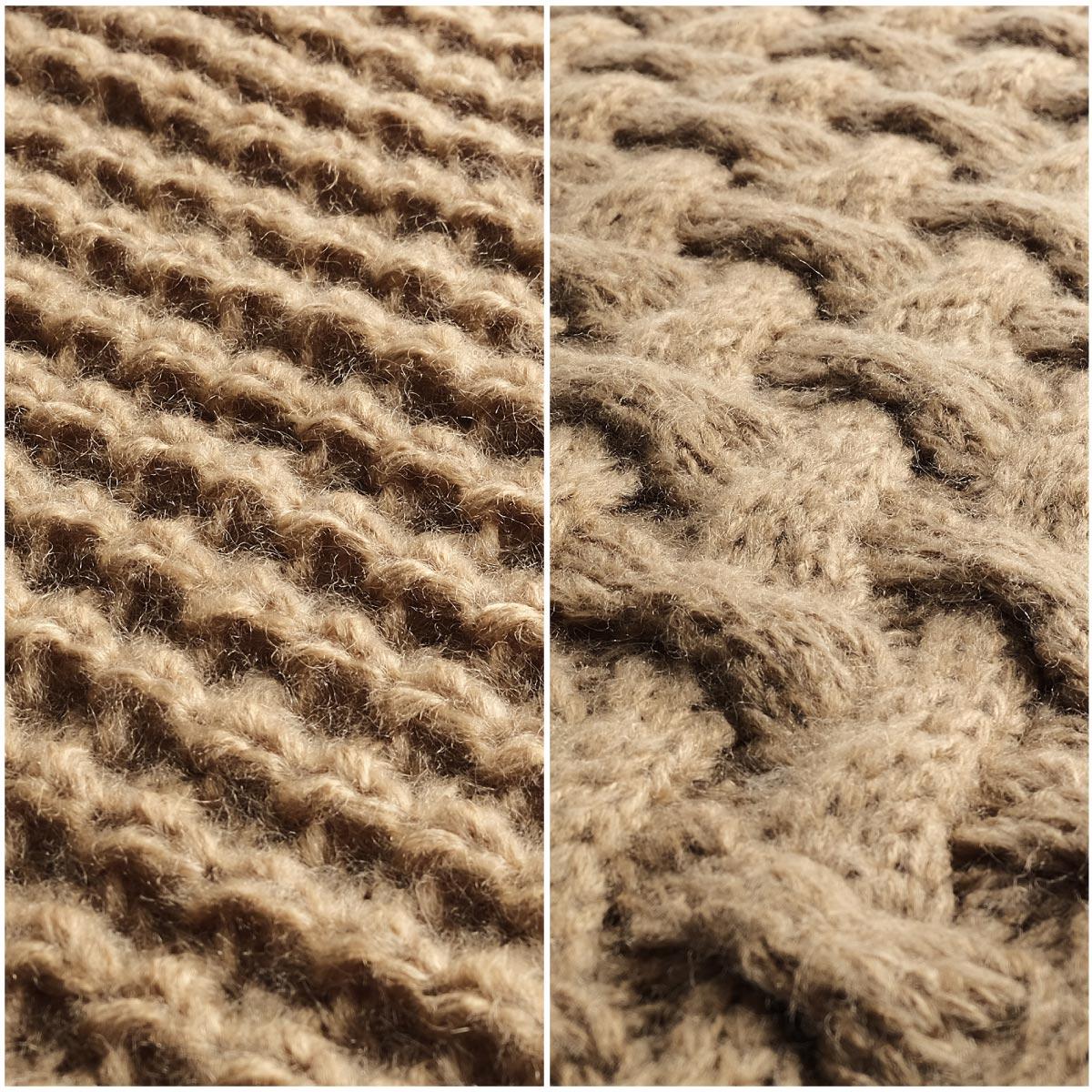 針織圍脖 麻花 / 鬆餅織 7