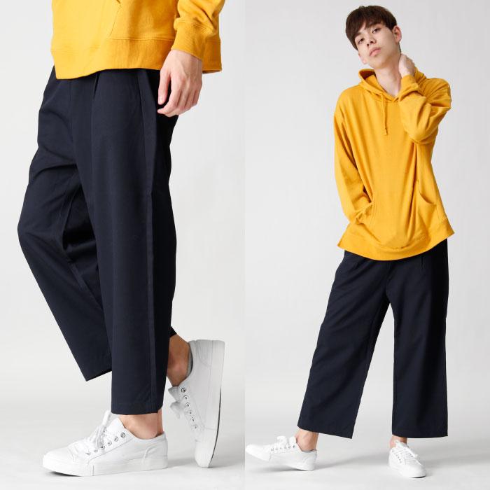 休閒寬褲 伸縮彈性 8