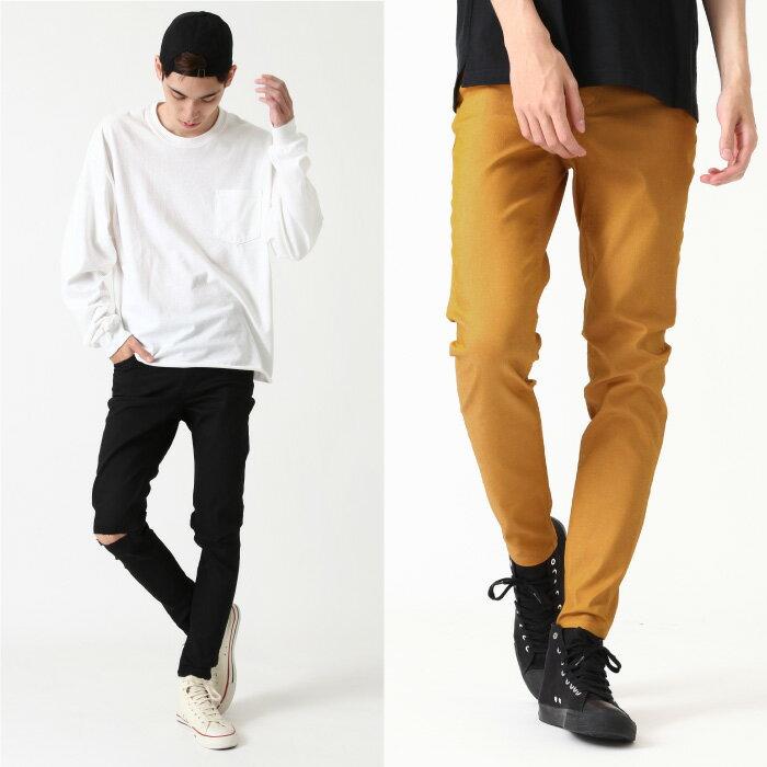 【現貨】 窄管褲 色褲 1