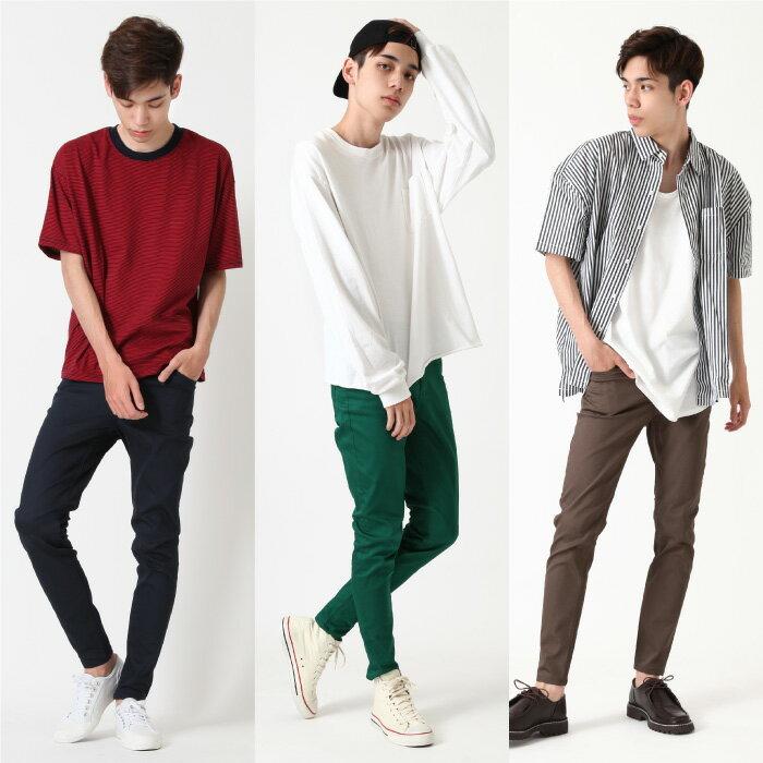【現貨】 窄管褲 色褲 8