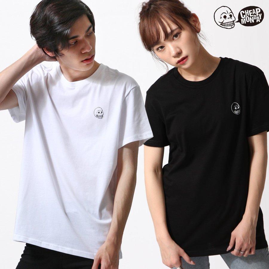 素色短袖T恤 CHEAP MONDAY 0