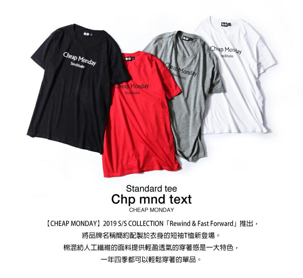 素色短袖T恤 CHEAP MONDAY 4