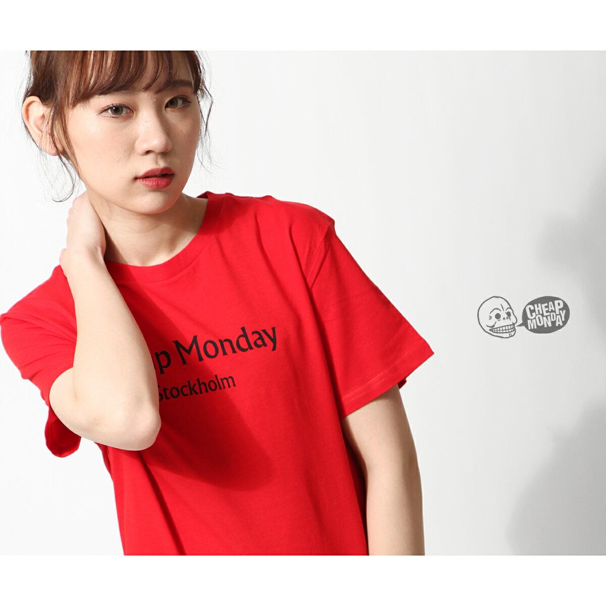 素色短袖T恤 CHEAP MONDAY 8