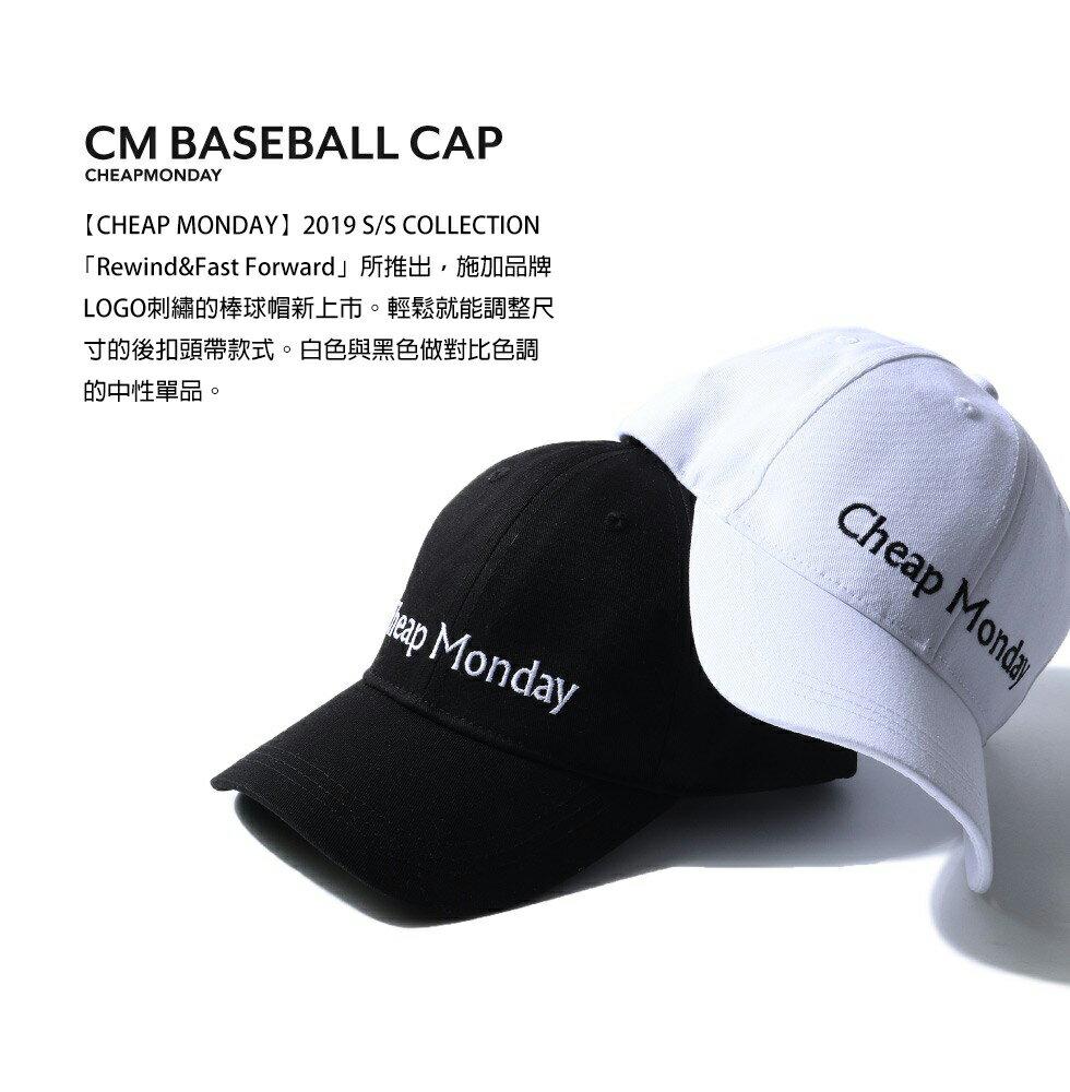 LOGO刺繡棒球帽 CHEAP MONDAY 5