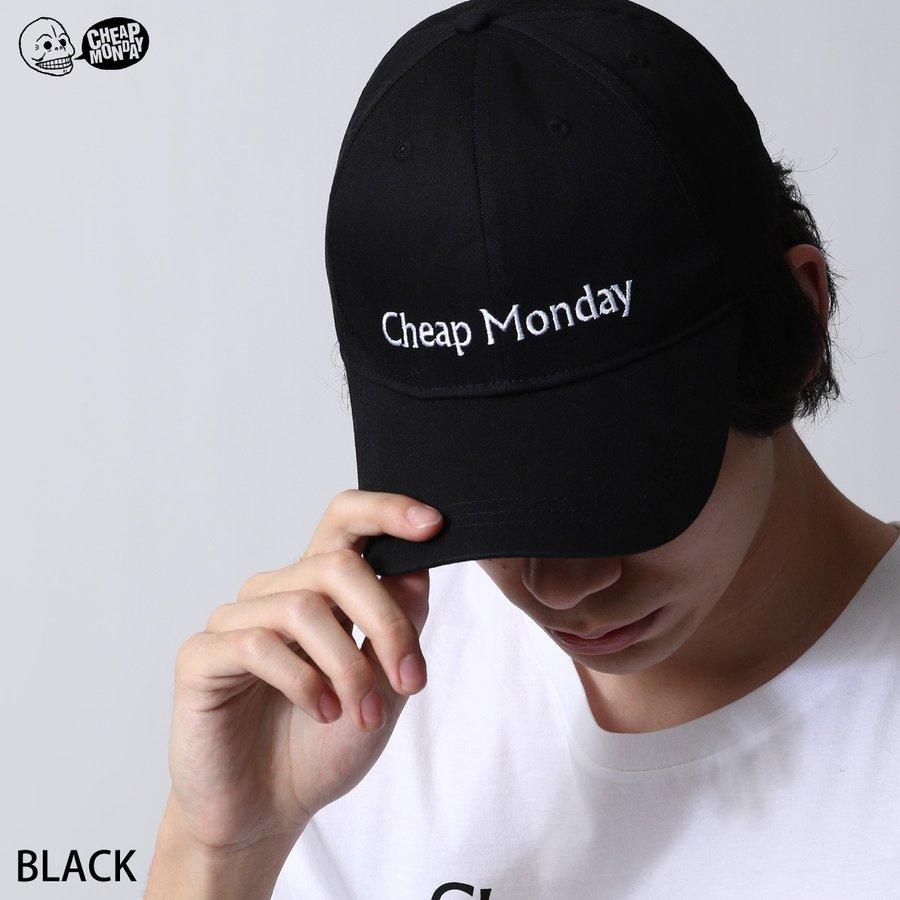 LOGO刺繡棒球帽 CHEAP MONDAY 0