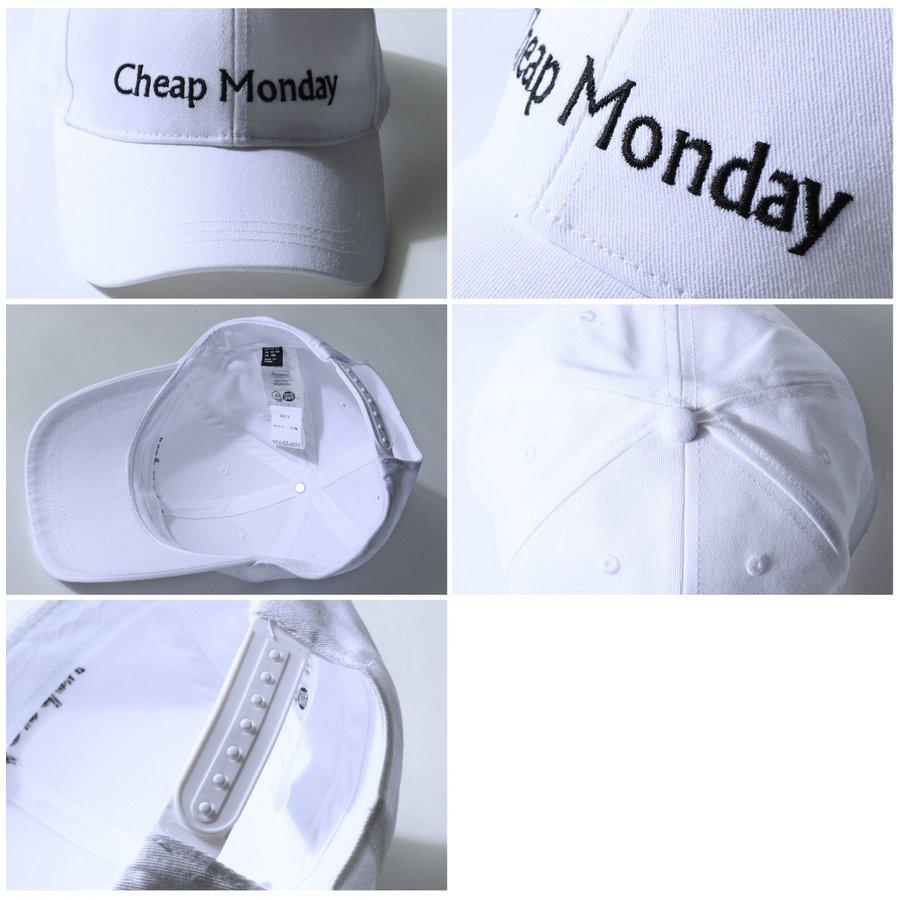 LOGO刺繡棒球帽 CHEAP MONDAY 4
