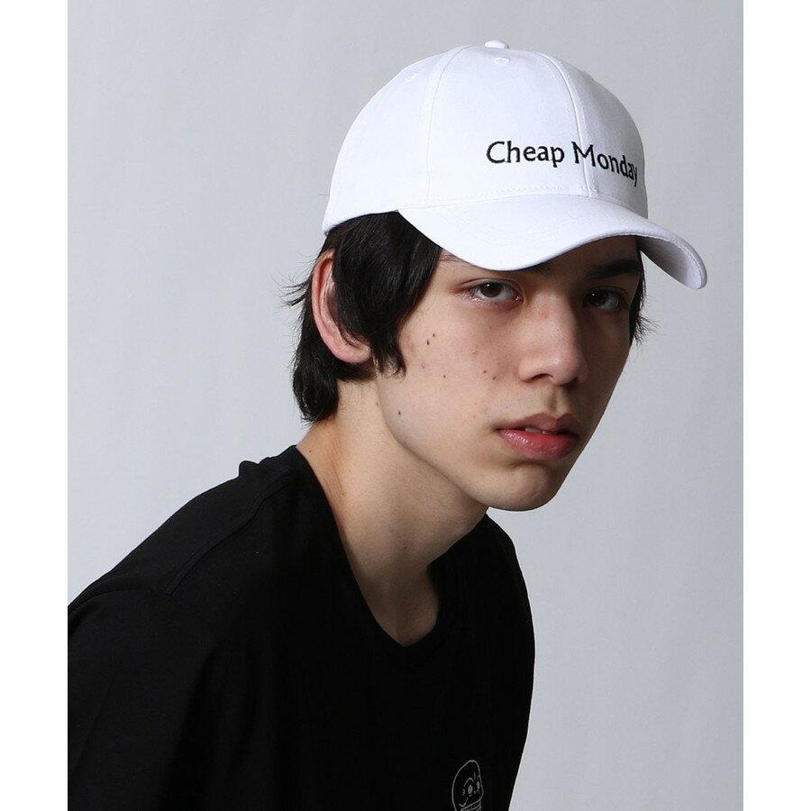 LOGO刺繡棒球帽 CHEAP MONDAY 1