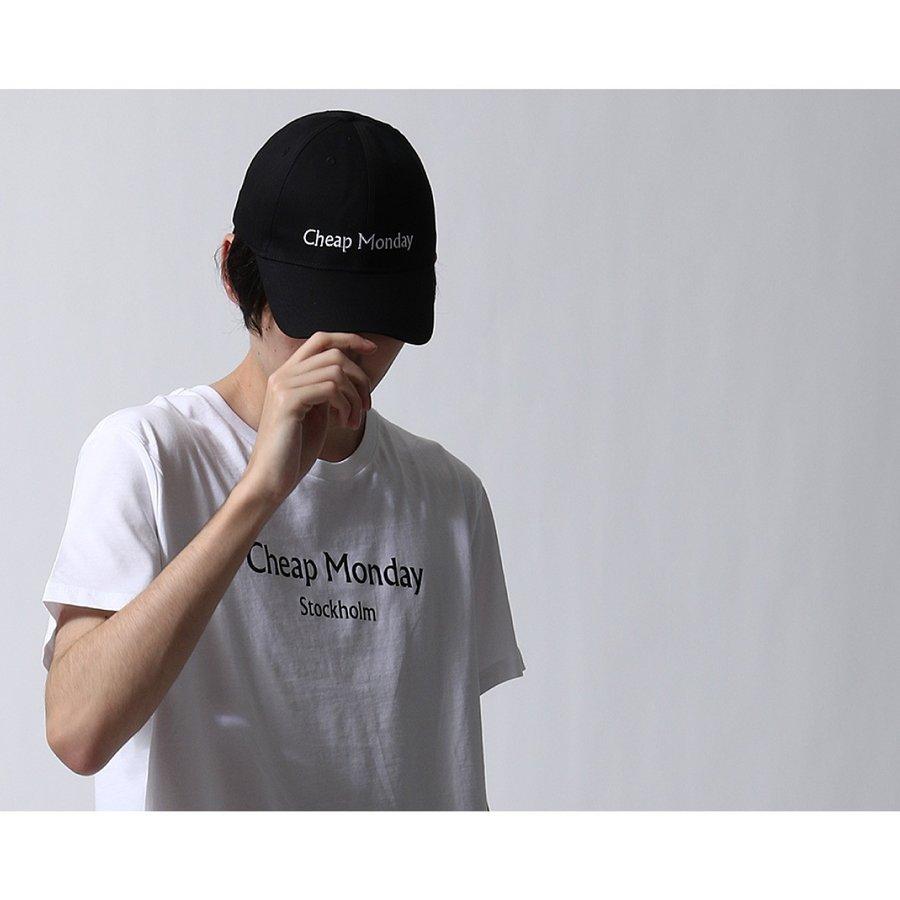 LOGO刺繡棒球帽 CHEAP MONDAY 8