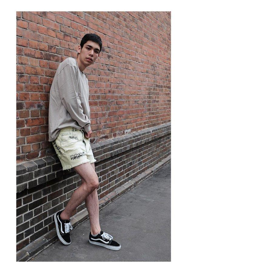 牛仔褲 短褲 7