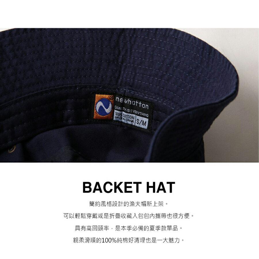 漁夫帽 素色 8