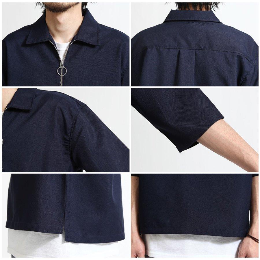 短袖襯衫 半拉鍊 5