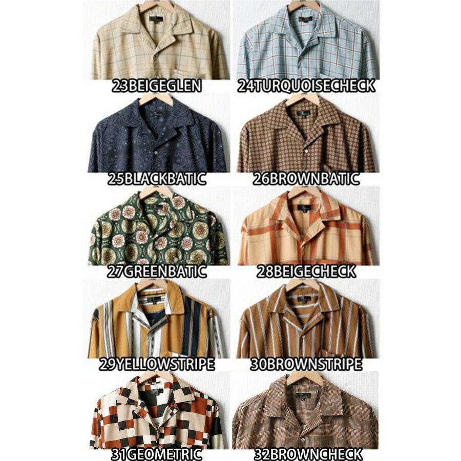 開領襯衫 長袖 3