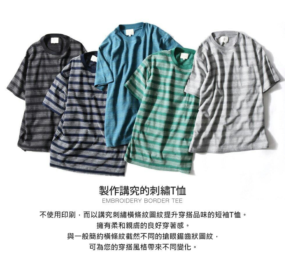 短袖T恤 刺繡 8