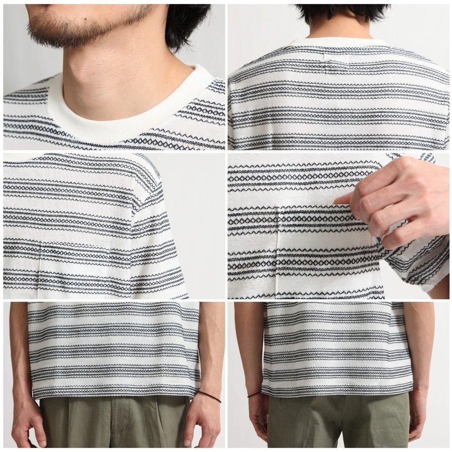 短袖T恤 刺繡 3