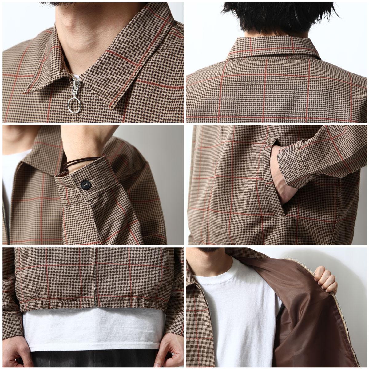 格紋夾克 外套 4