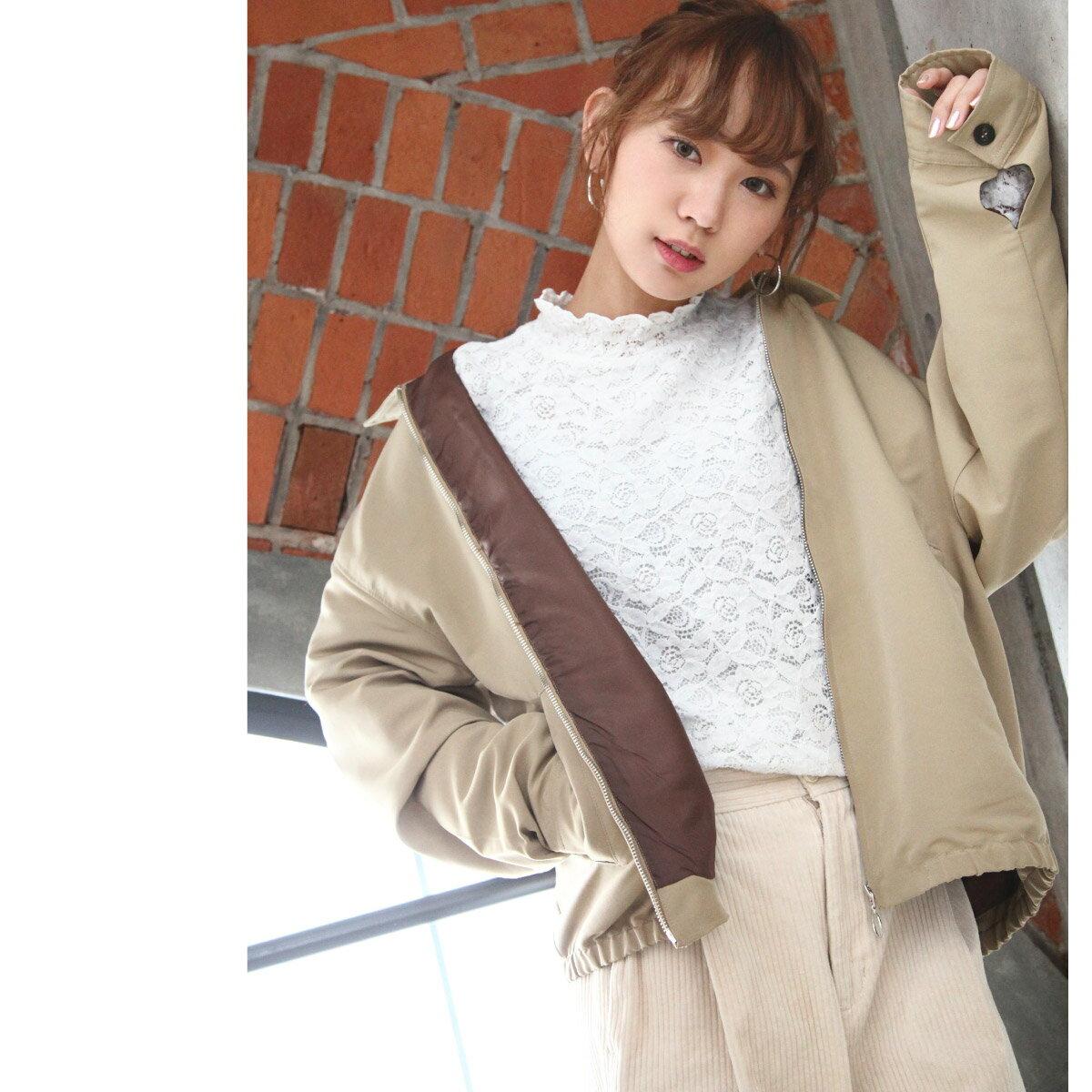 格紋夾克 外套 8