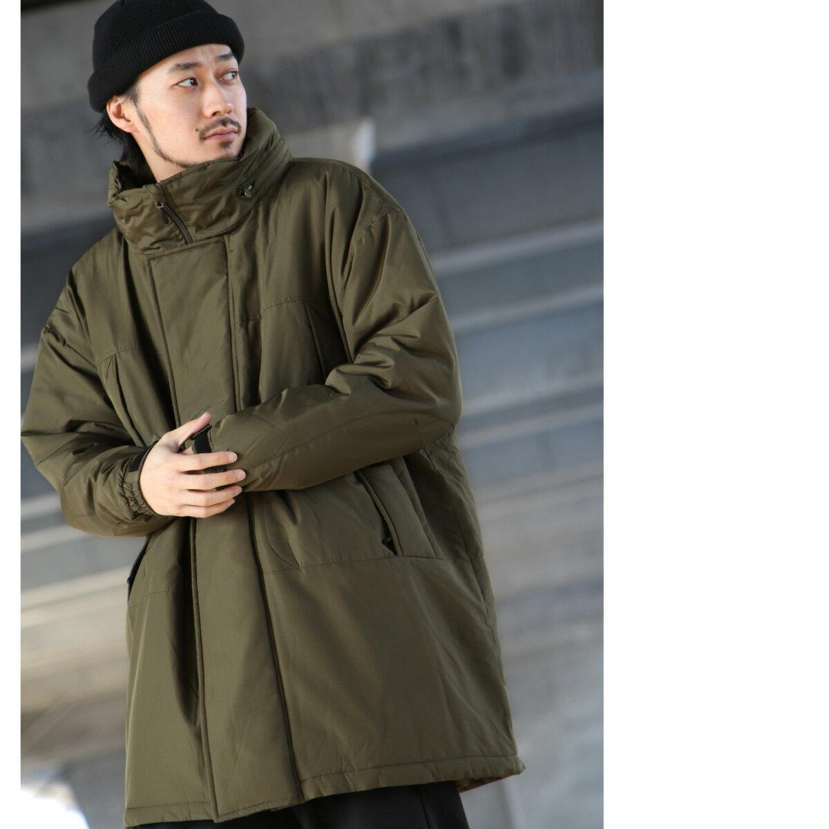 【現貨】 軍裝連帽防寒大衣  鋪棉  大尺碼