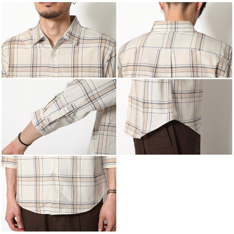 標準領短袖襯衫 休閒衫 7