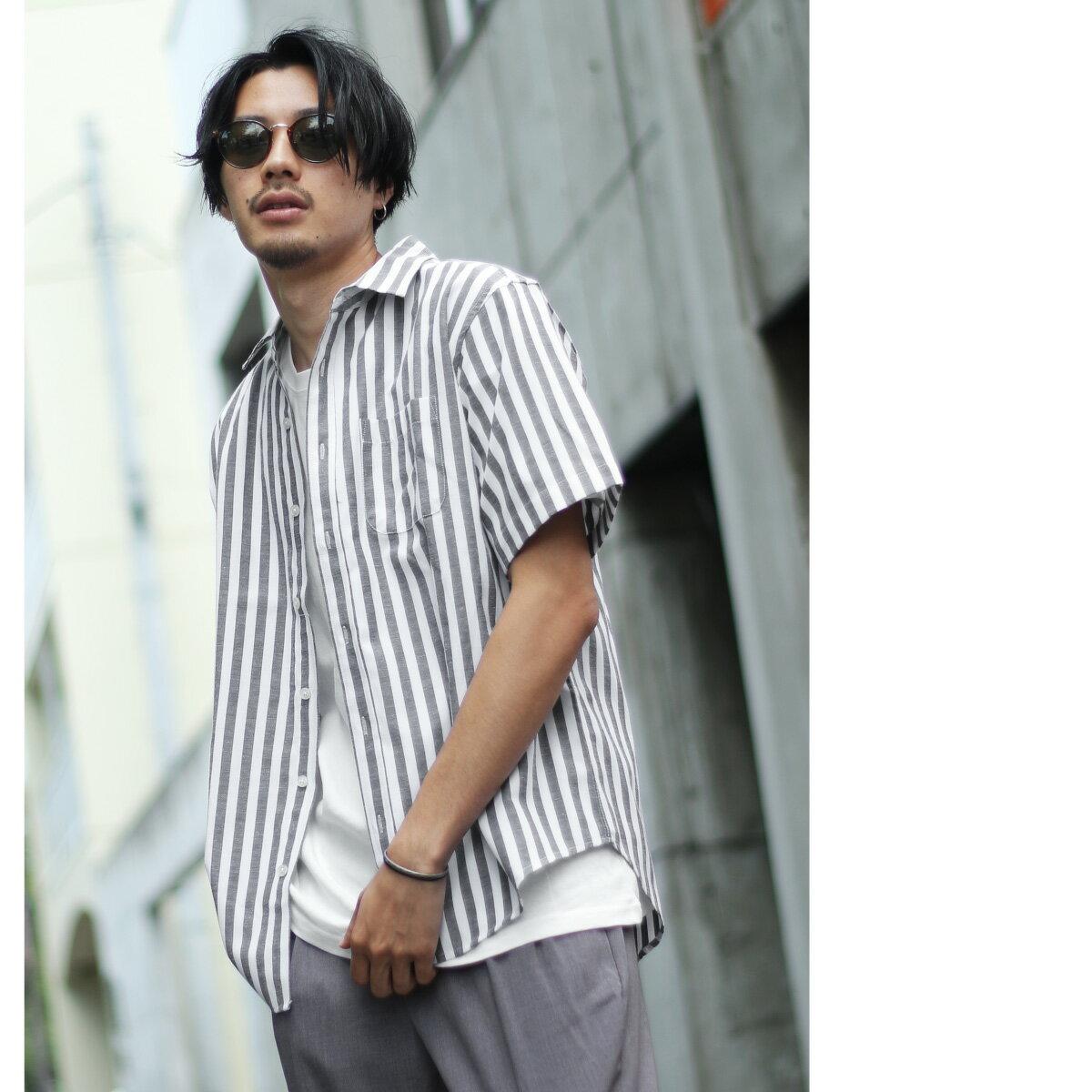 標準領短袖襯衫 休閒衫 1